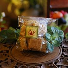 自家栽培のローズマリークラッカー